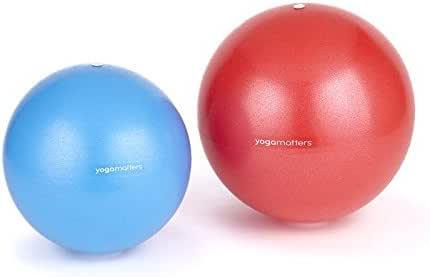 Yogamatters Pelota para Ejercicios, azul: Amazon.es