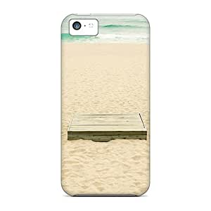 Premium Sy Summer Beach Heavy-duty Protection Cases For Iphone 5c