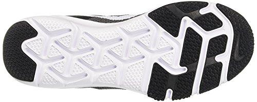 Nike Flex Control Men's Cross-Training Shoes Black/White/Dark Grey Uz9XJ