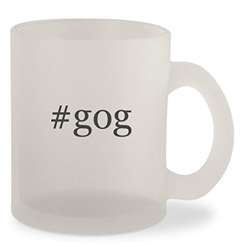 #gog - Hashtag Frosted 10oz Glass Coffee Cup Mug