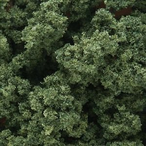 Medium Green Underbrush Clump-Foliage (32 oz. Shaker) Woodland (Woodland Scenics Underbrush Foliage)