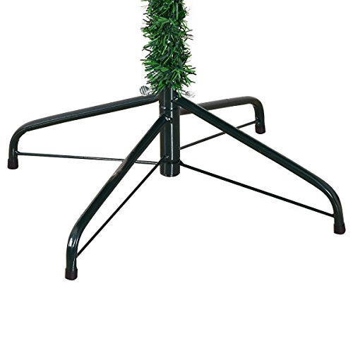 Amaethon 7FT Tree 7 Ft Artificial Christmas 1010 Tips Metal Legs Green Solid Full Stand Holiday Gift by Amaethon (Image #7)