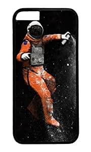 Apple Iphone 6 Case,WENJORS Awesome Astronaut Hard Case Protective Shell Cell Phone Cover For Apple Iphone 6 (4.7 Inch) - PC Black