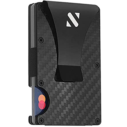 RFID Carbon Fiber Wallets for Men – Minimalist...