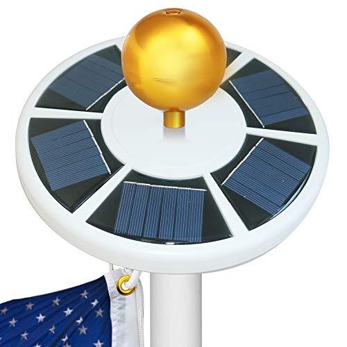 Best Solar Powered Flagpole Light