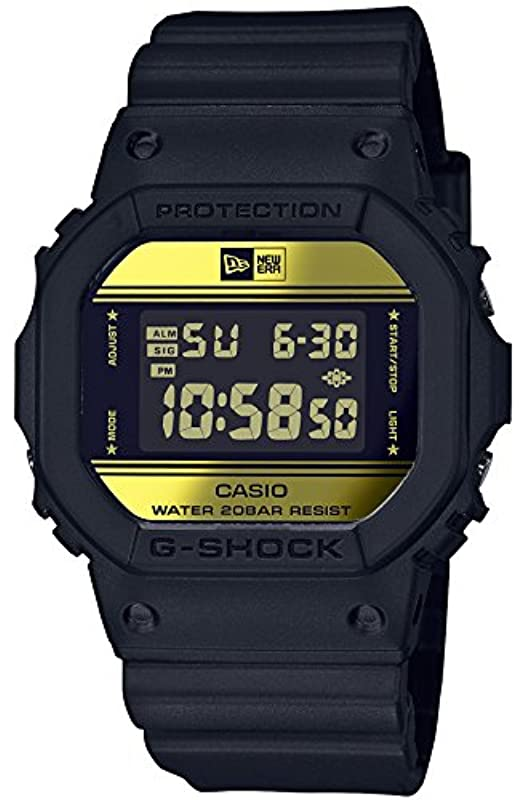 CASIO G-SHOCK G NEWERA 콜라보레이션 DW-5600NE-1JR