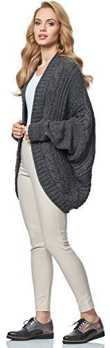 Merry Style Cardigan para mujer MSSE0024 Graphite
