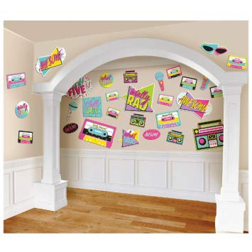 90s Themed Decorations (90s Themed Party Decorations Supplies for Adults (30 Count, 90s)