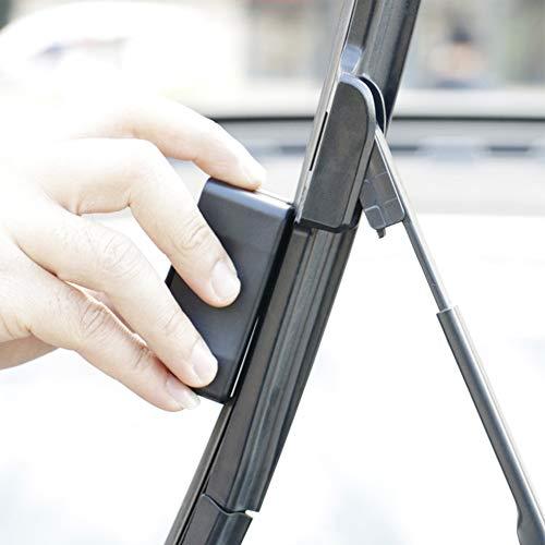 Limpiador de limpiaparabrisas universal para vehículo Tamaño libre negro: Amazon.es: Hogar