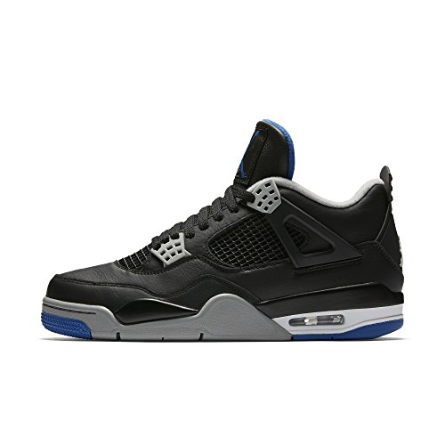 Nike - Jordan IV Retro - 308497006 - Farbe: Grau-Schwarz-Violett - Größe: 44.0