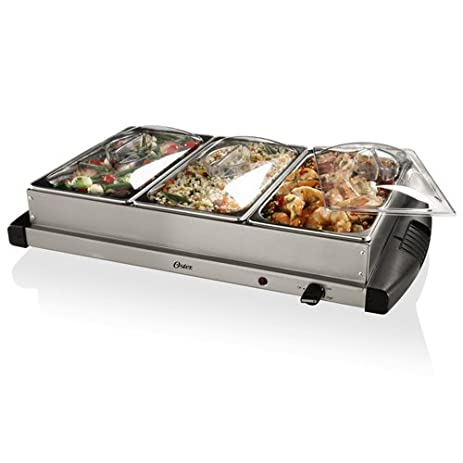 oster ckstbstw00 buffet server stainless steel - Cold Buffet Server