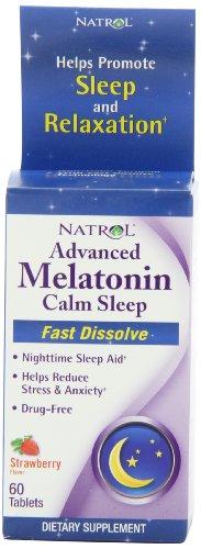 Natrol Advanced Melatonin Dissolve Strawberry