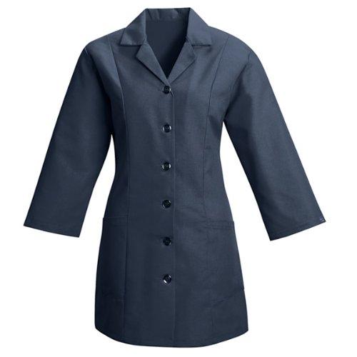 Smock Housekeeping (Red Kap Women's Fitted 3/4 Sleeve Smock, Navy, Medium)