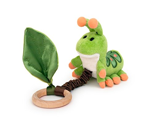 Apple Park Critter Teething Toy, Caterpillar