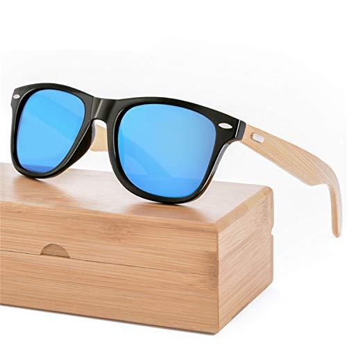 (Wood Sunglasses Men Bamboo Sunglass Women Sport Goggle Mirror Sun Glasses)