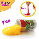 Hoobaba Magical Crystal Clear Intelligent Slime Putty Toy - Soft Stress Relief Toys Putti Slime - Great Gift for Kids Adult Birthday Party - Assorted Colors 5 Pack