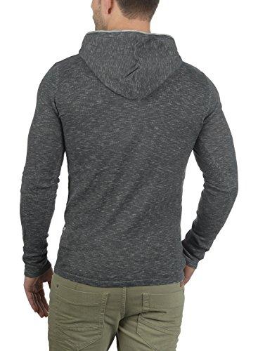 Da Rebel Con Cotone Grey Redefined Cappuccio Felpa In Murray Uomo Antracit Maglia 100 ZUqHF