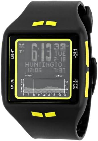 Vestal Unisex BRG018 Brig Tide Train Digital Display Quartz Black Watch