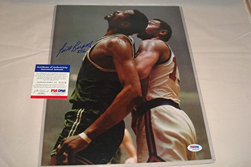 Bill Russell Signed 11x14 Color Photo Boston Celtics Icon, PSA/DNA Authenticated