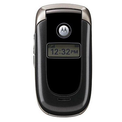 Motorola V197 Unlocked Phone with Quad-Band GSM and Bluetooth-International Version (Charcoal)