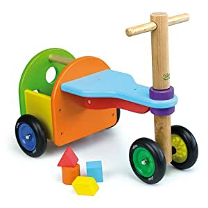 vilac rainbow tricycle toy baby shape and color recognition toys baby. Black Bedroom Furniture Sets. Home Design Ideas