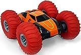 Taylor Toy Tough N' Tumble 1:10 RC Remote Control Car - Tough Terrain Full 360 Tumbling Stunt Car with 10