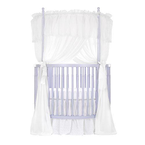 Round Baby Crib (Dream On Me Sophia Posh Circular Crib, Lavender Ice)