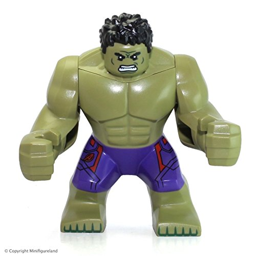 (LEGO Marvel Super Heroes Age of Ultron Minifigure - Incredible Hulk (2015))