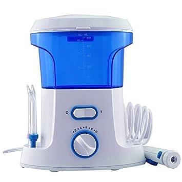 Denshine profesional Personal chorro de agua dientes irregador dental dental Flosser Hilo dental de dientes limpiador máquina oral care + 7 tips: Amazon.es: ...