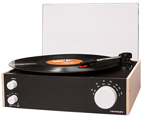 Crosley CR6023A-NA Switch Turntable with AM/FM Radio, used for sale  Delivered anywhere in USA