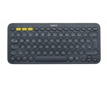 Click to buy Logitech K380 Keyboard - Wireless Connectivity - Bluetooth - Black - Switzerland - From only $120