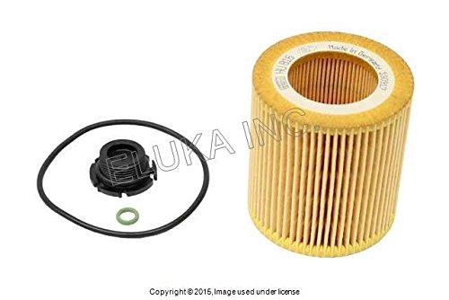BMW OEM Engine Lubrication System Oil Filter Kit X1 28i Z4 28i 528i Hybrid 5 528i 228i X3 28i 320i 328i Hybrid 3 328i 428i 428i 328i 428i Bmw Oil Filter Kit