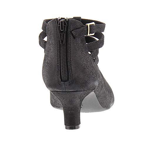 Rockport Kimly Shimme Cage Black pour femmes Chaussures rgwr7TxRq
