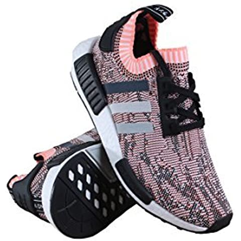 online store b7a2a afcc2 adidas NMD R1 Womens Tri Color Salmon BB2361 SZ 7.5us
