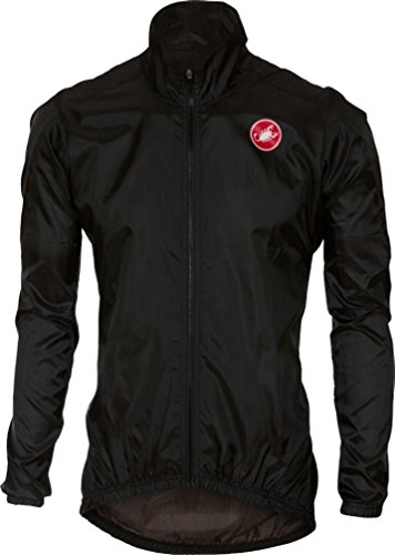 Castelli Squadra ER Jacket - Men's Black, XL from Castelli