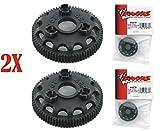 Traxxas 4676 Spur Gear 76T 48P (2pcs) Slash 2WD Rustler Stampede Bandit VXL XL-5