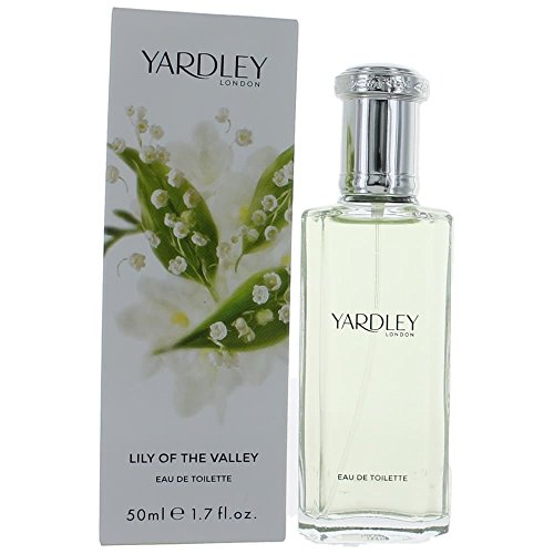 Yardley of London Lily of The Valley Eau De Toilette Spray for Women, 1.7 Ounce