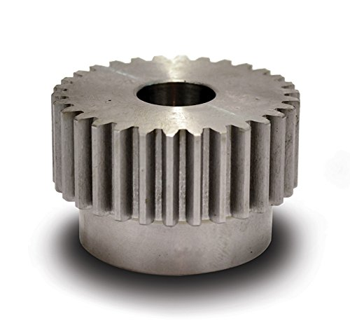 Boston Gear NB30B-1/2 Spur Gear, 14.5 Pressure Angle, Steel, Inch, 16 Pitch, 0.500'' Bore, 2'' OD, 0.500'' Face Width, 30 Teeth by Boston Gear