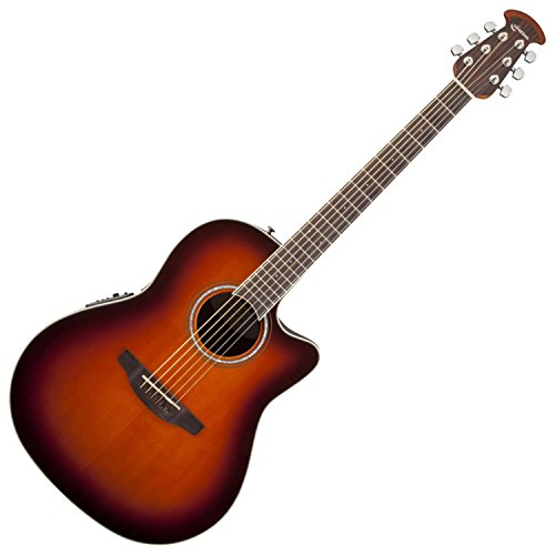 Ovation CS24-1 Celebrity Standard Mid-Depth Cutaway,Acoustic-Electric Guitar Sunburst
