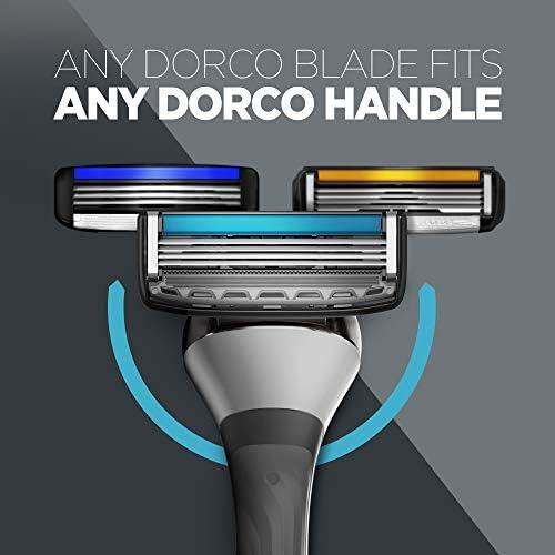 Maquinilla de afeitar Dorco Pace 4 Pro para hombres (20 cuchillas + 1 manija): Amazon.es: Salud y cuidado personal
