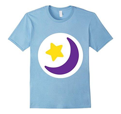 Halloween Care Bear (Mens Care Moon Stars Bears Halloween Group Costume TShirts Medium Baby Blue)