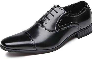 [フォクスセンス] ビジネスシューズ 革靴 軽量・撥水 本革 ストレートチップ 紳士靴 内羽根 メンズ