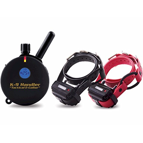 Educator K9-402 B33 Two Dog K9 Handler 3/4 Mile Remote Dog Training Collar, 33