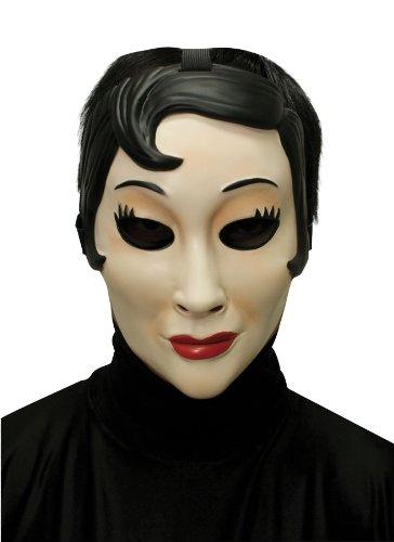 Seasonal Visions Inter'nal Ltd Men's Emo Girl Mask Multicoloured One Size ()