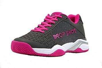 DROP SHOT Prisma Zapatillas, Mujer, Rosa, 35: Amazon.es: Deportes y aire libre