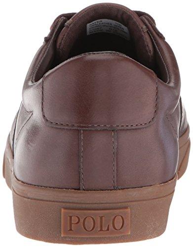 Polo Sayer Dark Men's Brown Ralph Lauren Sneaker AwrxARt