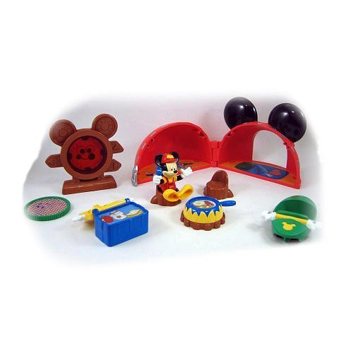 Fisher Price Mickey Mouse Campground Playset