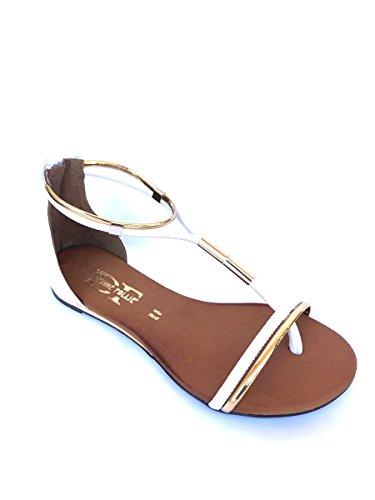 Divine Follie - Sandalias de vestir de Piel para mujer Bianco