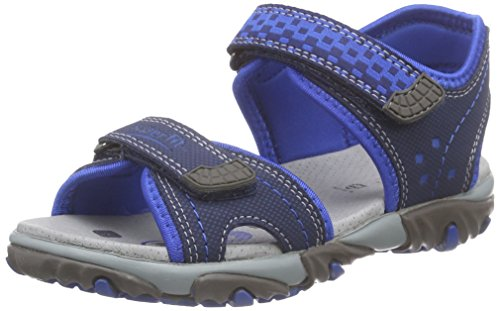 Superfit Mike 2 600173 Jungen Sandalen, Blau (water kombi 88), 31 EU
