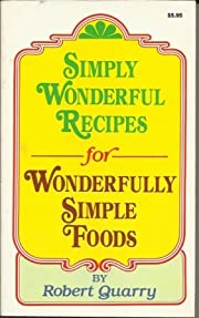 Simply Wonderful Recipes for Wonderfully…